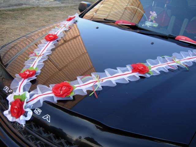Свадебные украшения на авто Киев